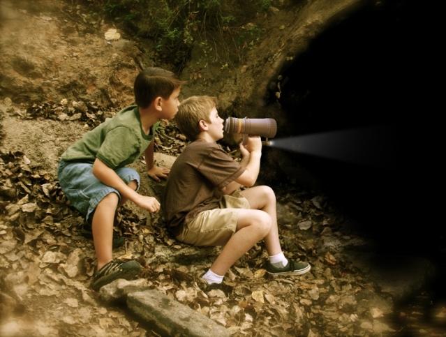 Image credit: http://unclemilton.com/photos/Deep_Cave_Explorer_Echo_Maker_-_with_Boys.jpg