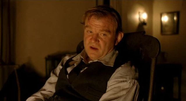 "Brendan Gleeson as August Nicholson, ""The Village"", 2004."